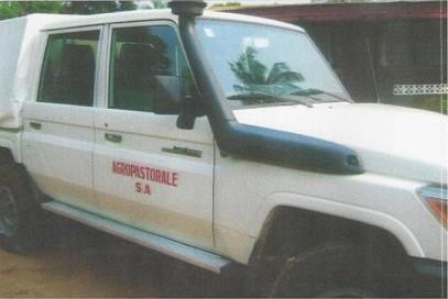 Onze nieuwe jeep
